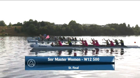Video for 2021 Waka Ama Championships - Snr Master Women - W12 500 St. Final