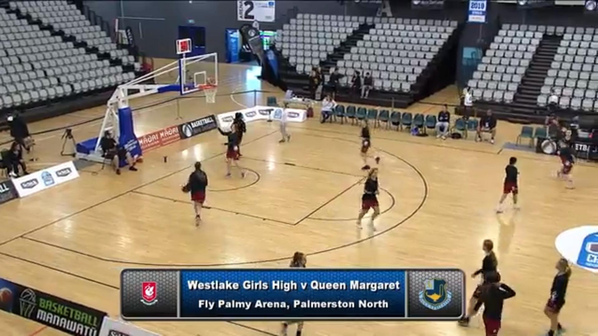 Video for Schick Basketball Champs 2018, Westlake Girls ki Queen Margaret  (AA Girls 3/4 Playoff)