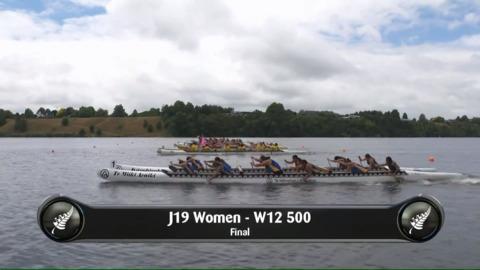 Video for 2019 Waka Ama Sprints - J19 Women - W12 500 Final