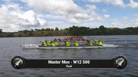 Video for 2019 Waka Ama Sprints - Master Men - W12 500