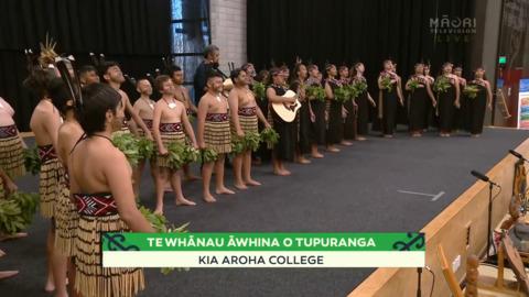 Video for 2021 Kura Tuatahi - Tāmaki, Kia Aroha College, Full Bracket