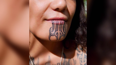Video for 'Bullied' out of her job for her moko kauae