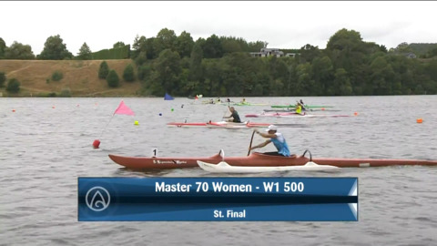 Video for 2021 Waka Ama Championships - Master 70 Women - W1 500 St. Final