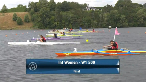 Video for 2021 Waka Ama Championships - Int Women - W1 500 Final