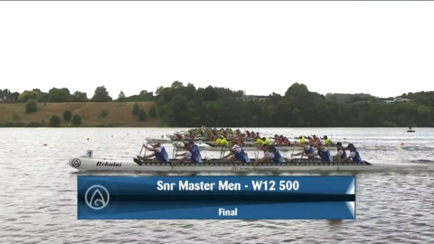 Video for 2021 Waka Ama Championships - Snr Master Men - W12 500 Final
