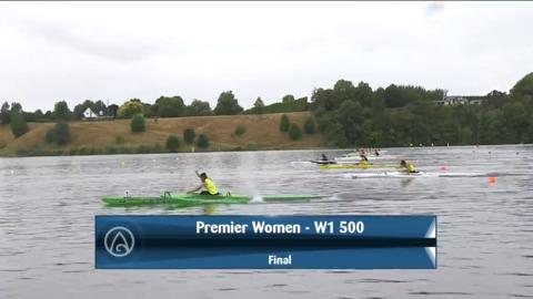 Video for 2021 Waka Ama Championships - Premier Women - W1 500 Final