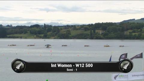 Video for 2019 Waka Ama Sprints - Int Women - W12 500 Semi 1/2