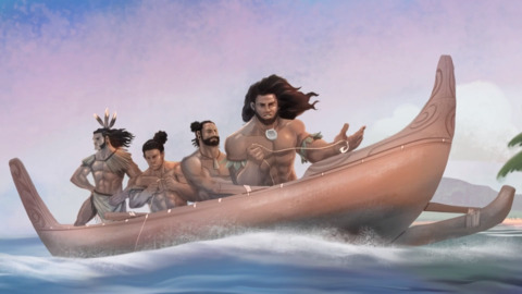 Video for He Paki Tāonga i a Māui, Kupe and the Giant Wheke