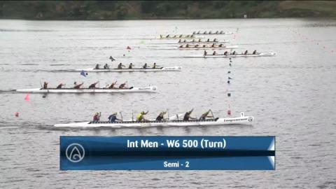 Video for 2021 Waka Ama Championships - Int Men - W6 500 (Turn) Semi 2/2
