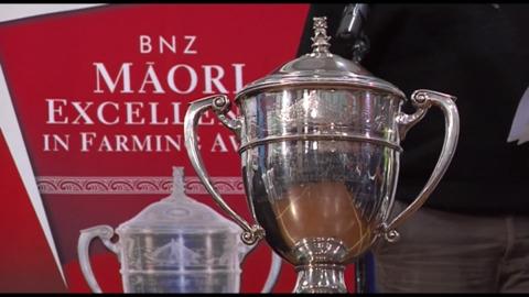 Video for Kua tautapahia ngā kaipāmu rangatahi Māori i ngā tohu Ahuwhenua