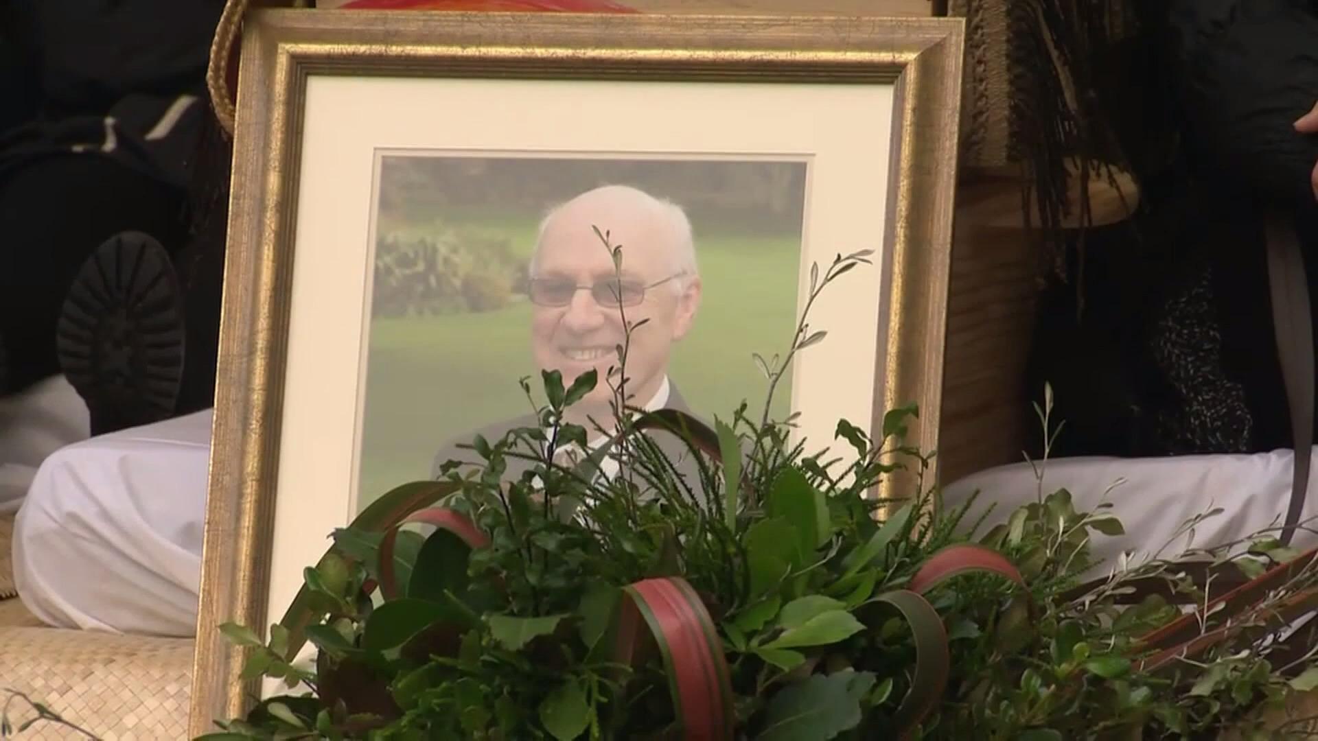 Video for Many pay tribute to Professor John Moorfield at Waikato University