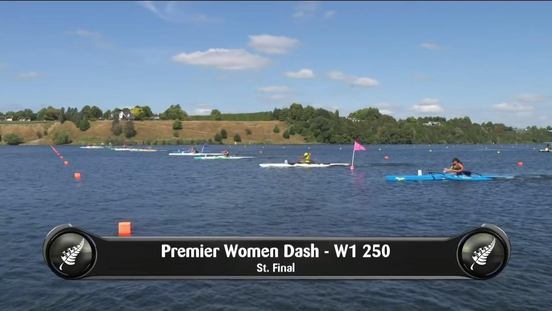 Video for 2019 Waka Ama Sprints - Premier Women Dash - W1 250 St.Final