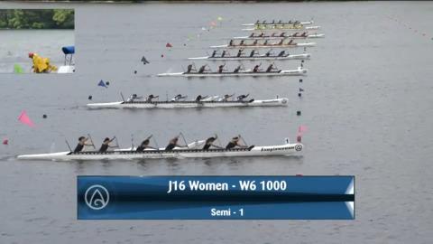 Video for 2021 Waka Ama Championships - J16 Women - W6 1000 Semi 1/2