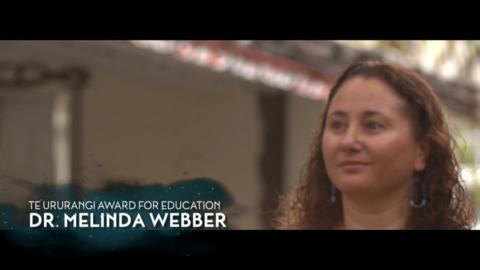 Video for Matariki Awards 2018 - Dr Melinda Webber