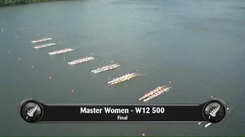 Video for 2019 Waka Ama Sprints - Master Women - W12 500 Final