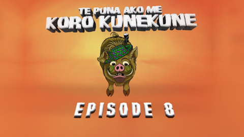 Video for Te Puna Ako me Koro Kunekune, Episode 8