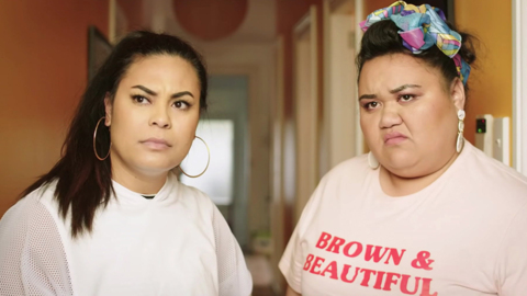 Video for Comedy Central series 'Sis' inspired by Māori people and culture