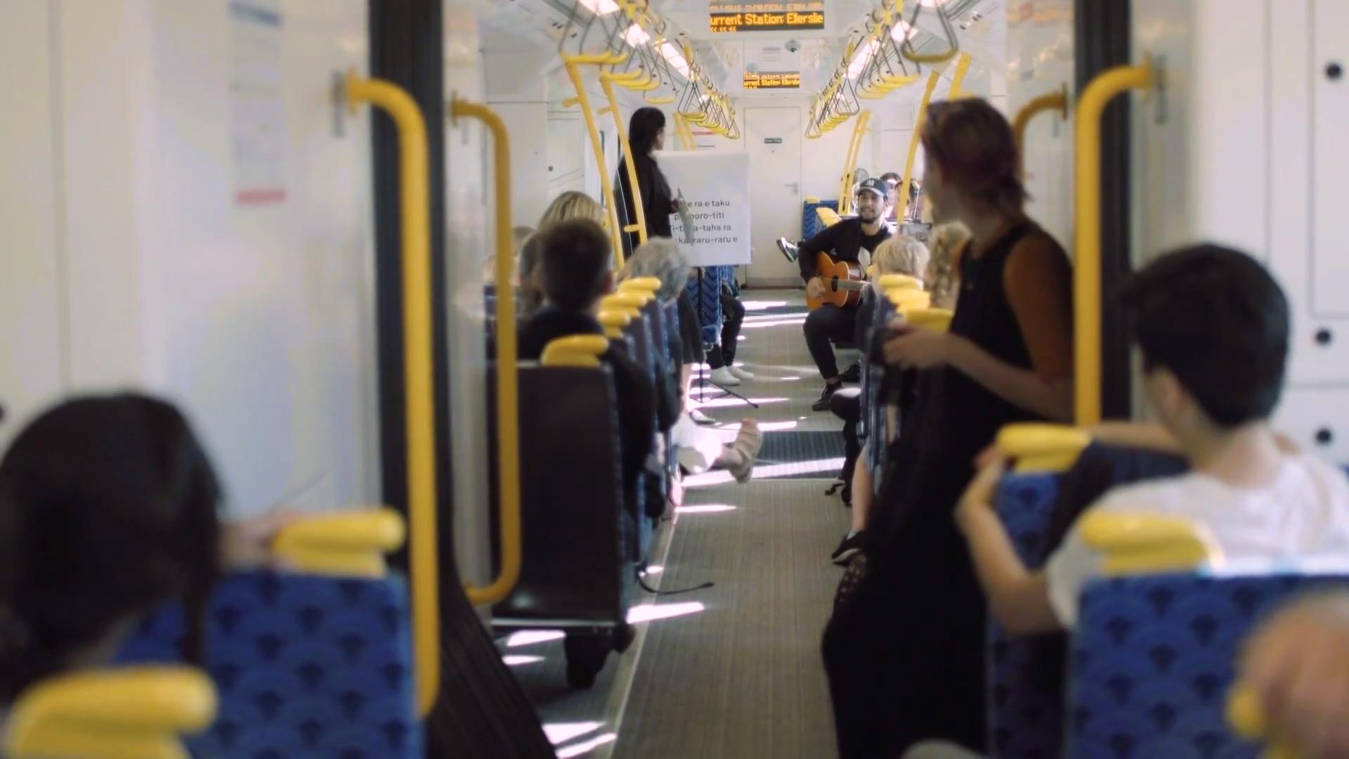 Video for Tāmaki trains to tautoko te reo