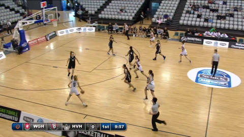 Video for Schick Basketball Champs 2018, Westlake Girls High ki Hutt Valley High (AA Girls SF1)