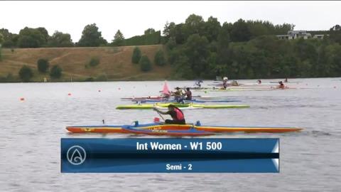 Video for 2021 Waka Ama Championships - Int Women - W1 500 Semi 2/2