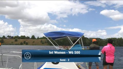 Video for 2021 Waka Ama Championships - Int Women - W6 500 Semi 2/2