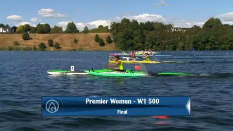 Video for 2020 Waka Ama Sprints - Premier Women - W1 500 Final
