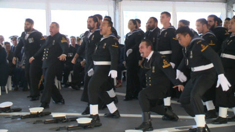 Video for Taranaki hapū takes role in commissioning of new navy ship