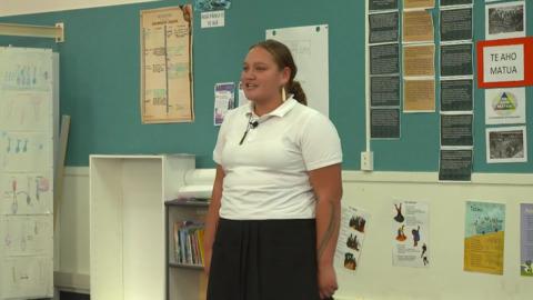 Video for Taking te reo Māori to the world