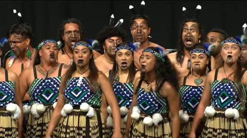 Video for 2020 Kapa Haka Regionals, Te Hikuwai, Mōteatea