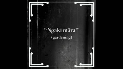 Video for Mahuru Māori 2020: Kupu: Ngaki Māra, Ūpoko 38