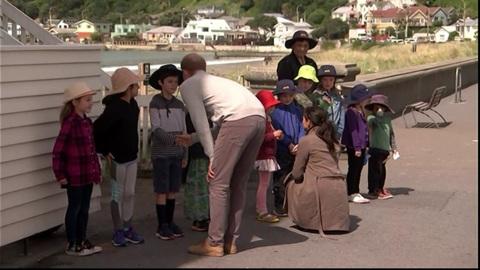 Video for Royals make children's day