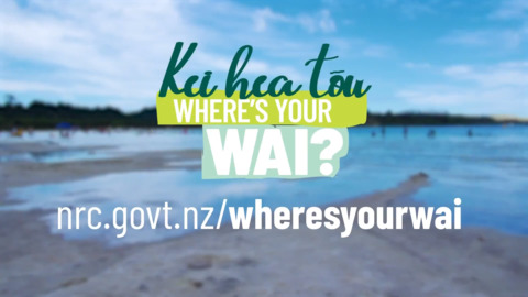 Video for Where's Your Wai app to help improve Northland water quality