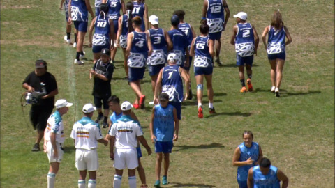 Video for 2019 Bunnings Junior National Touch Champs,  U16 Mixed, Te Tai Tokerau v Auckland