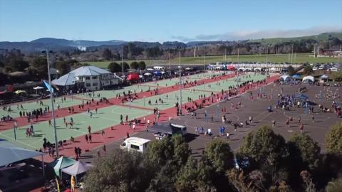 Video for Māori language finds a place at NZ longest running netball tournament