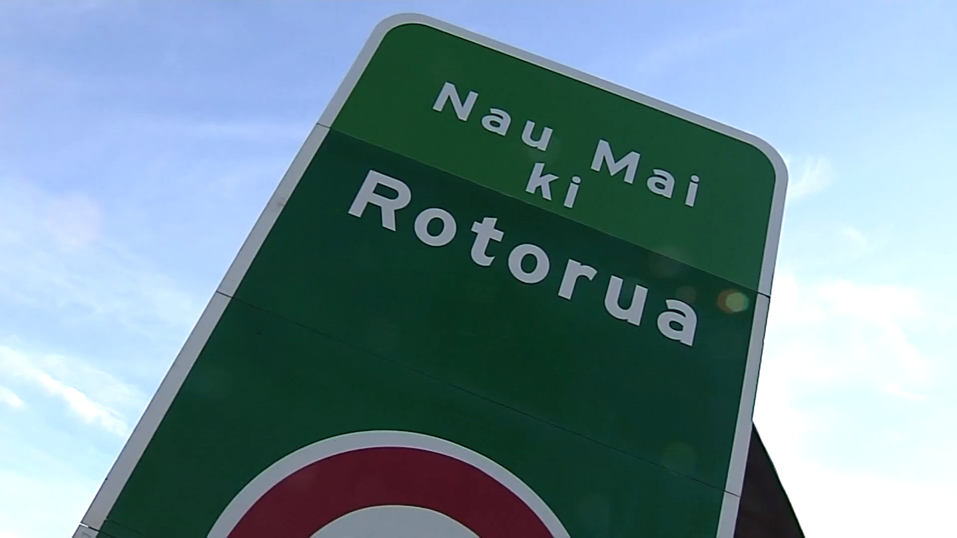 Video for A welcome sign for a bilingual Rotorua