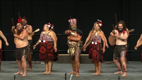 Video for 2020 Kapa Haka Regionals, Te Ahi Tipua (o Tūwharetoa), Whakaeke