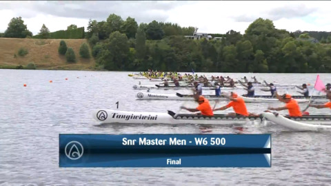 Video for 2021 Waka Ama Championships - Snr Master Men - W6 500 Final