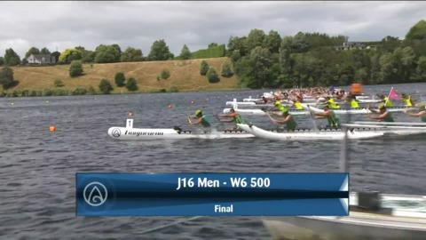 Video for 2021 Waka Ama Championships - J16 Men - W6 500 Final