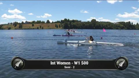 Video for 2019 Waka Ama Sprints - Int Women - W1 500 Semi 2/2