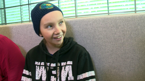 Video for Young girl battling cancer wants to visit her marae