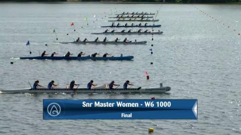 Video for 2020 Waka Ama Sprints - Snr Master Women - W6 1000 Final