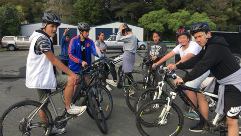 Video for Bike riding initiative revisits traditional Māori pathways, revives te reo