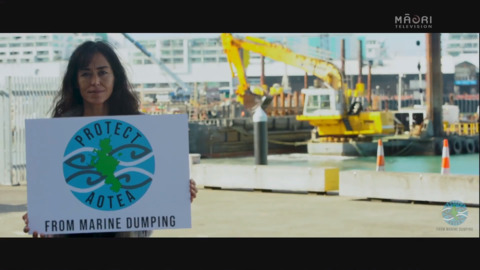 Video for 'Enough is enough, stop the sediment dump' - Great Barrier locals