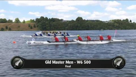 Video for 2019 Waka Ama Sprints - Gld Master Men - W6 500 Final