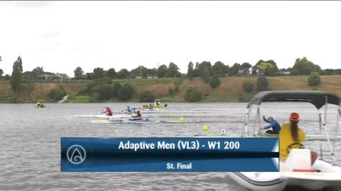 Video for 2021 Waka Ama Championships - Adaptive Men (VL3) - W1 200 St. Final
