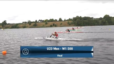 Video for 2021 Waka Ama Championships - U23 Men - W1 500 Final