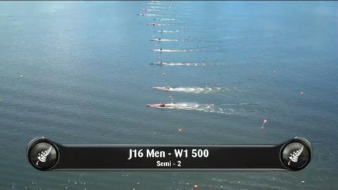 Video for 2019 Waka Ama Sprints - J16 Men - W1 500 Semi 2/2