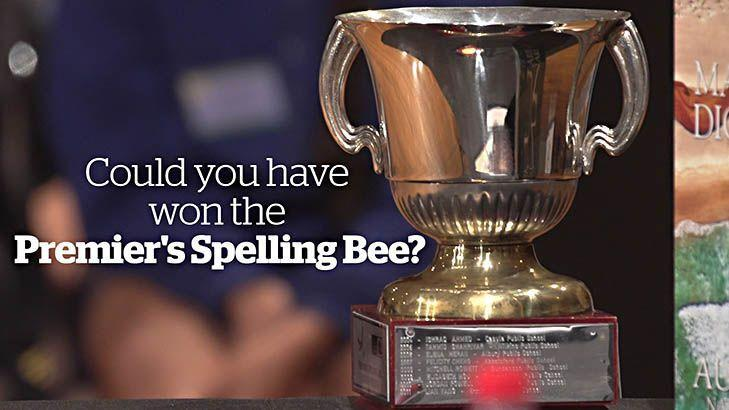Could you have won the NSW Premier's Spelling Bee?