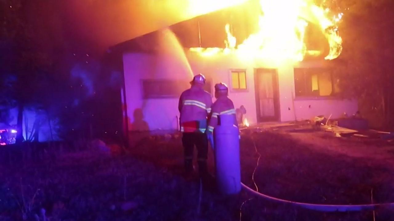 Mega fire burning in NSW