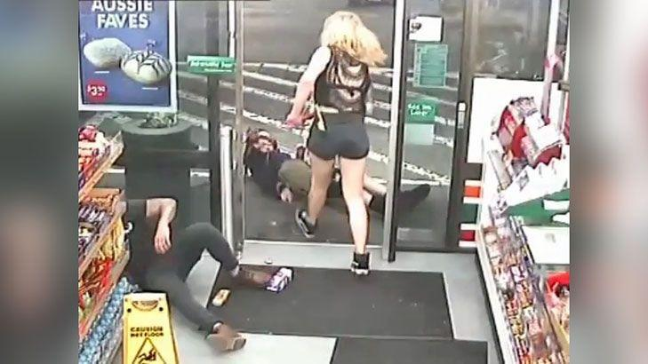 Extreme violence in 7-Eleven axe attack